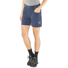 Norrøna W's Falketind Flex1 Shorts Indigo Night